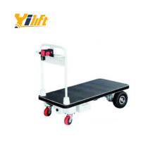 China 500kg motorized battery powered electric hand trolley